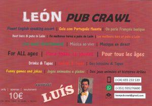 pub crawl leon